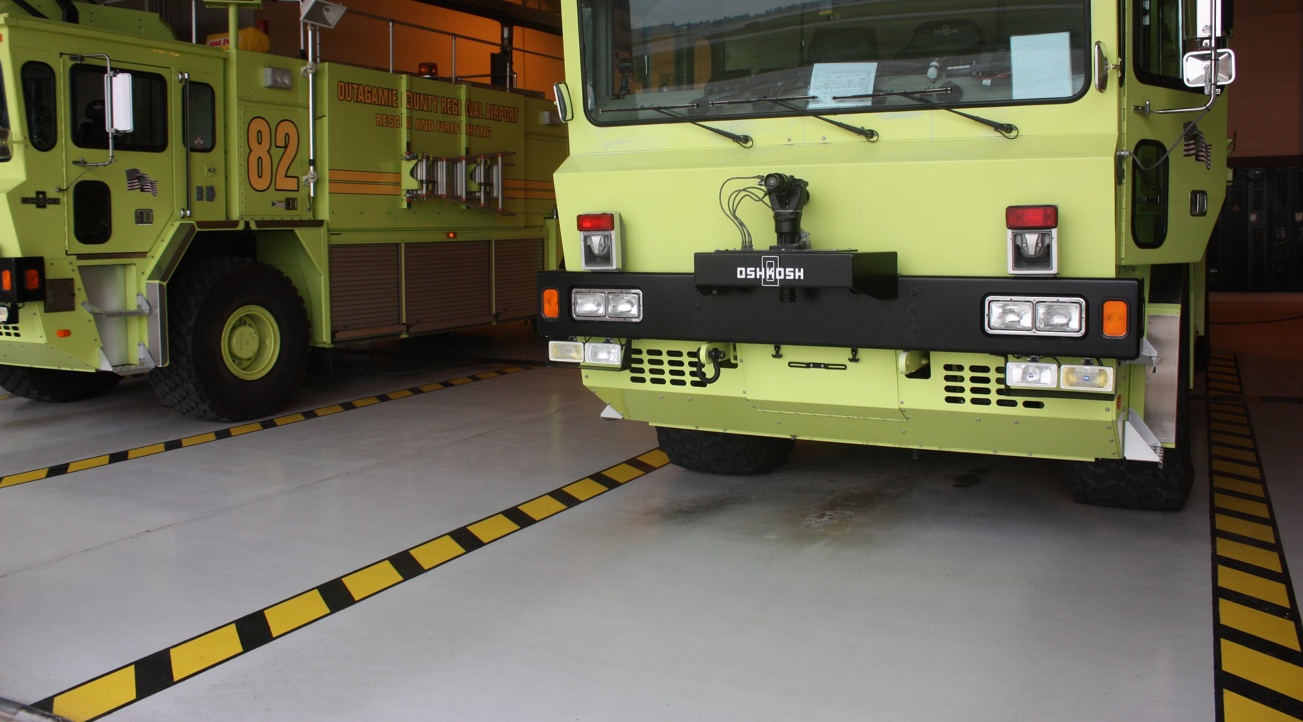 Airport emergency vehicles