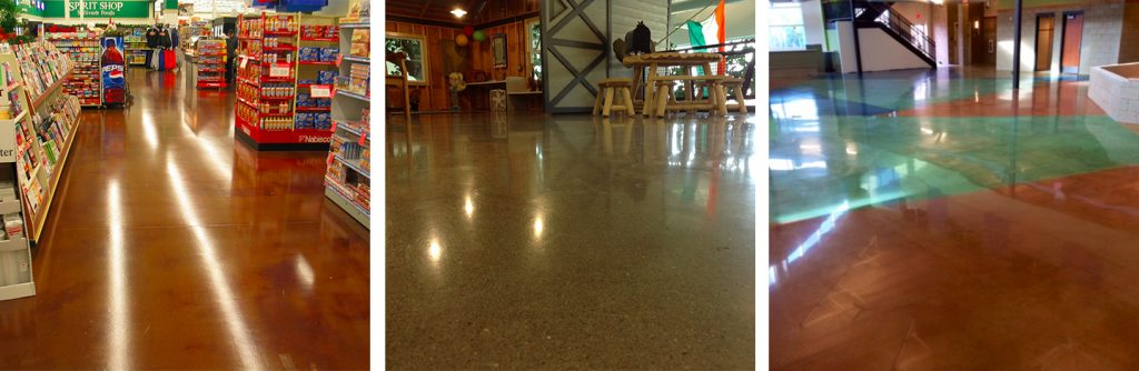 polished concrete examples